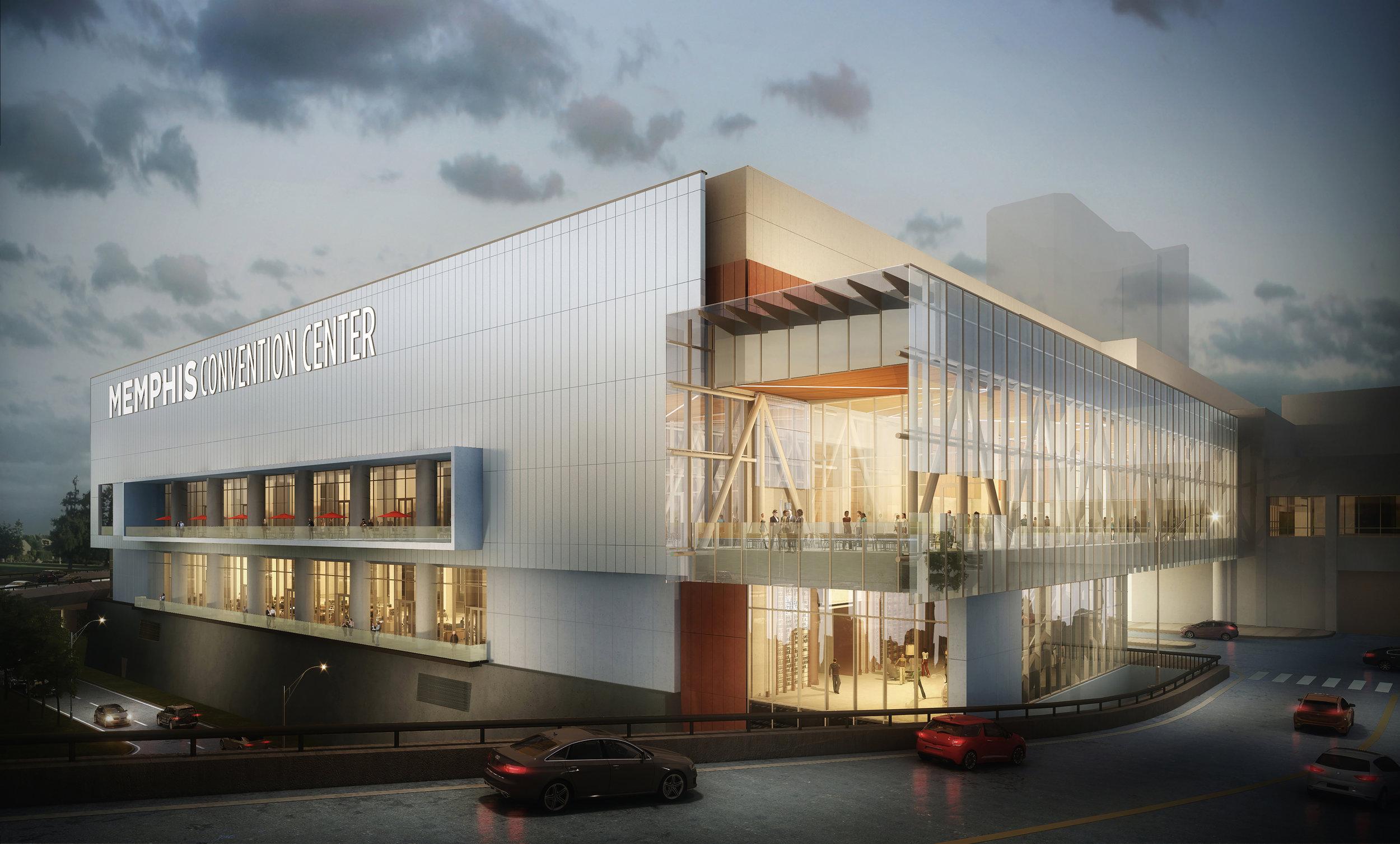 Renovated Memphis Convention Center, LRK