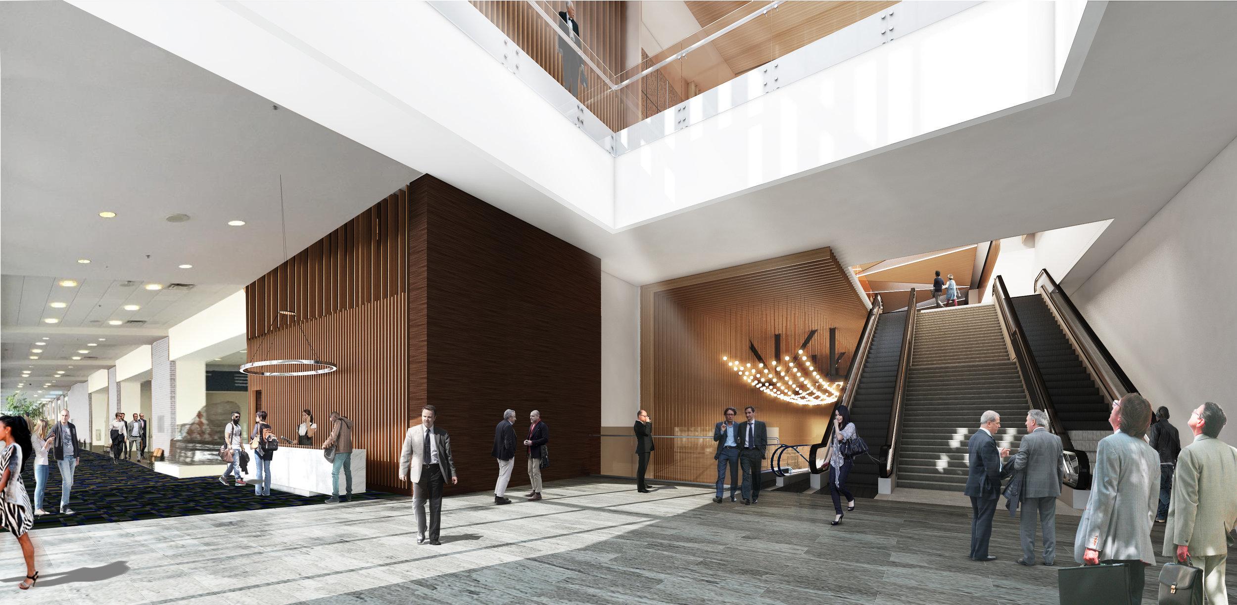 Main Atrium Memphis Convention Center, LRK