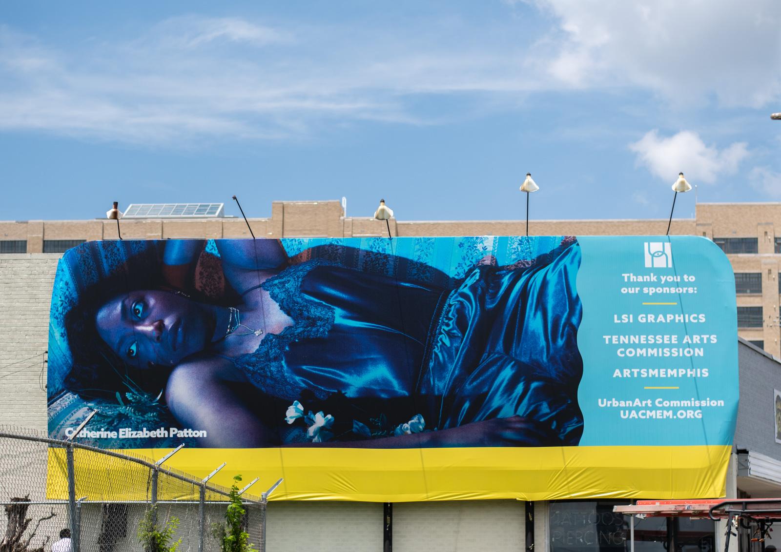 pictured: UAC Billboard, Ebony Archie