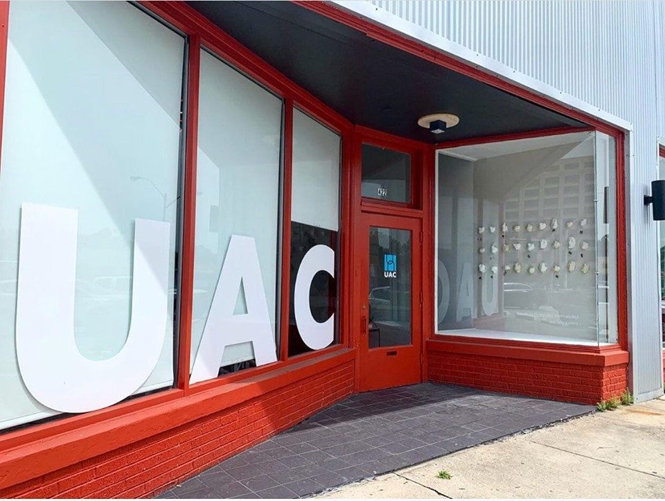 UAC's storefront office at 422 N. Cleveland.
