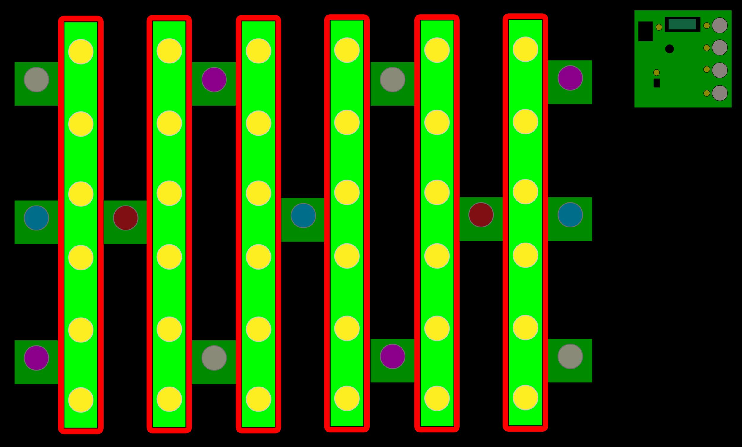 """78"""" Max-Power Flower Bars"""