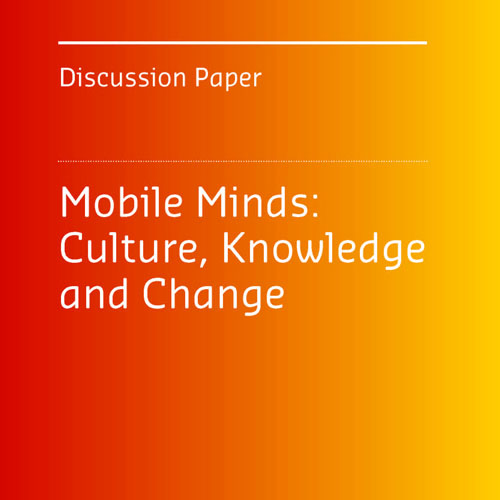 DISCUSSION PAPER    Features contributions from individuals around the world whose work exemplifies how individuals can effect transformative change