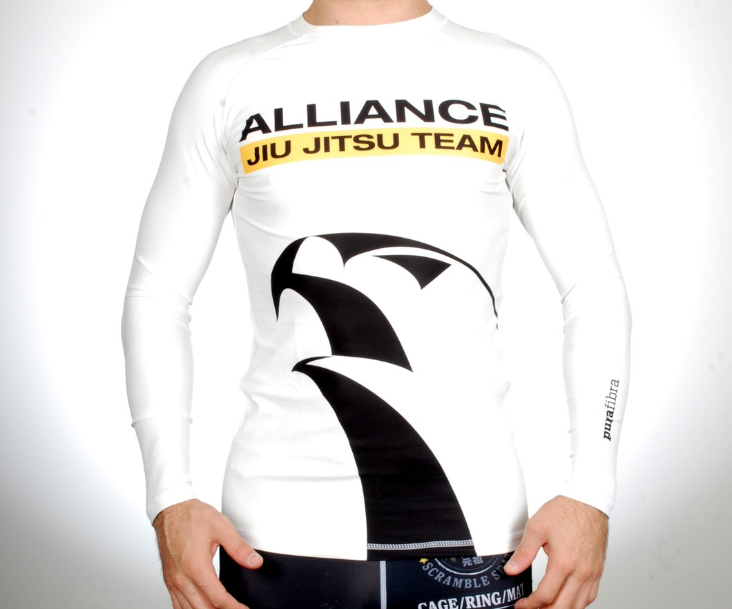 Alliance Rash Guards White.jpg