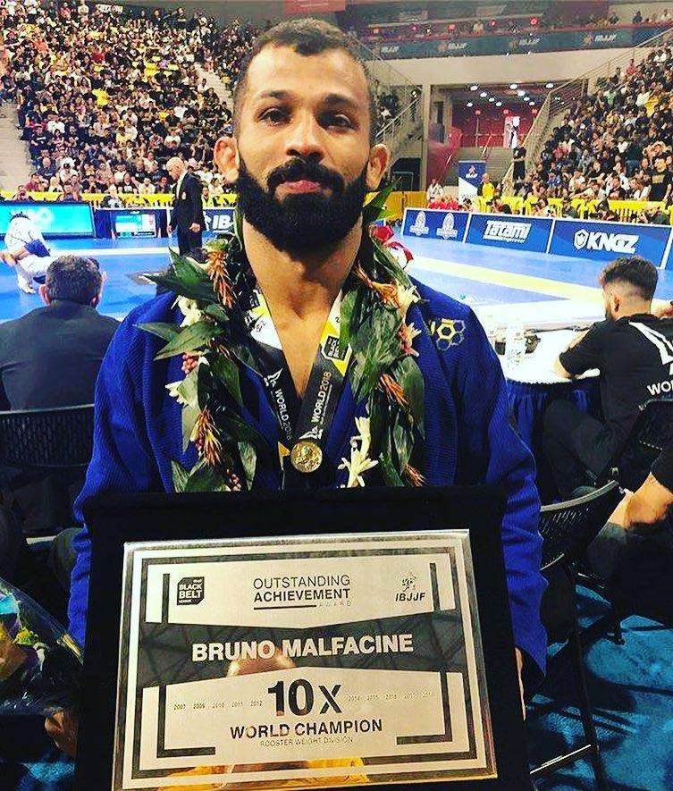 2018 Bruno Malfacine 10 x World BJJ Champion