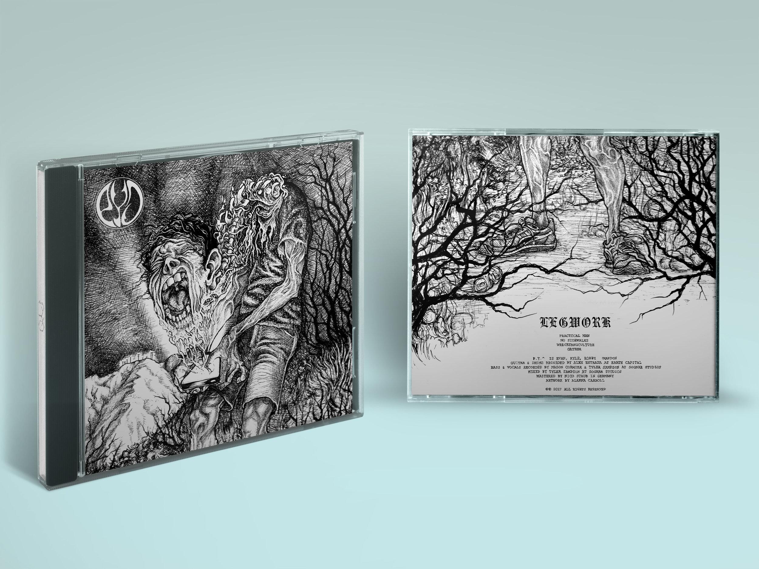 PYO Legwork album art