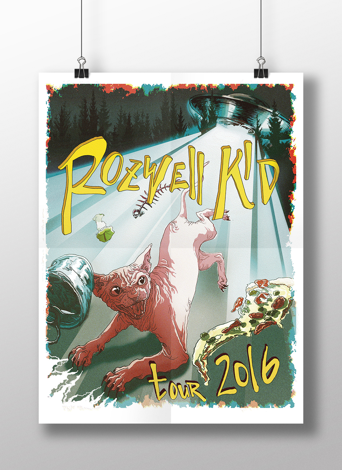 Rozwell Kid tour poster