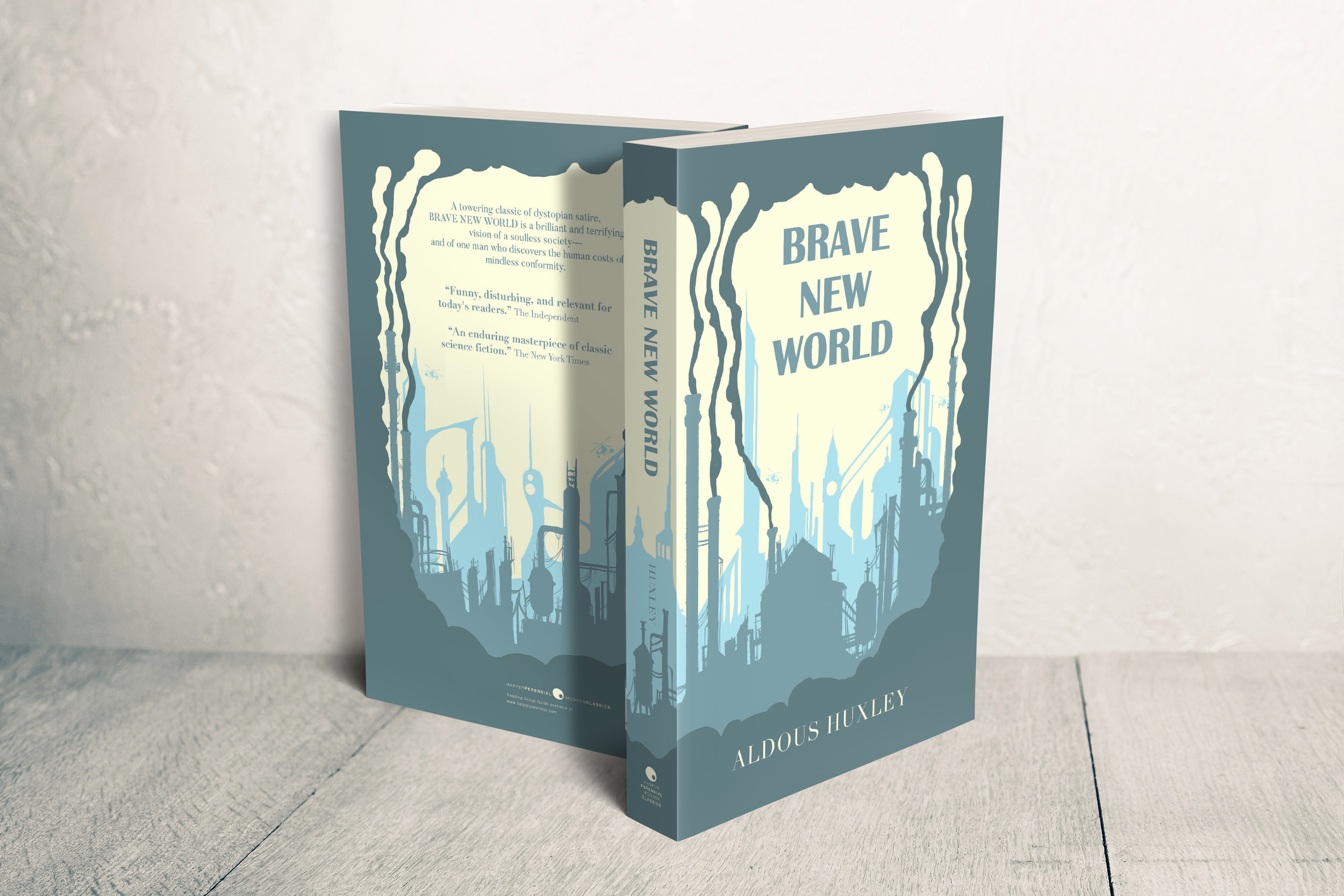 Aldous Huxley's Brave New World jacket