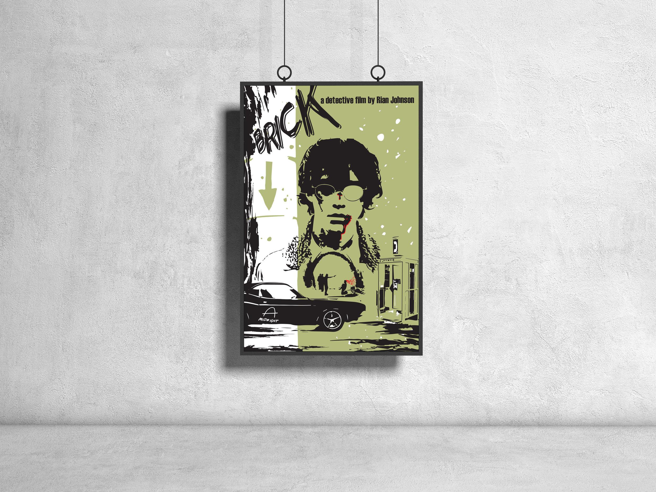 Poster for Rian Johnson's film Brick