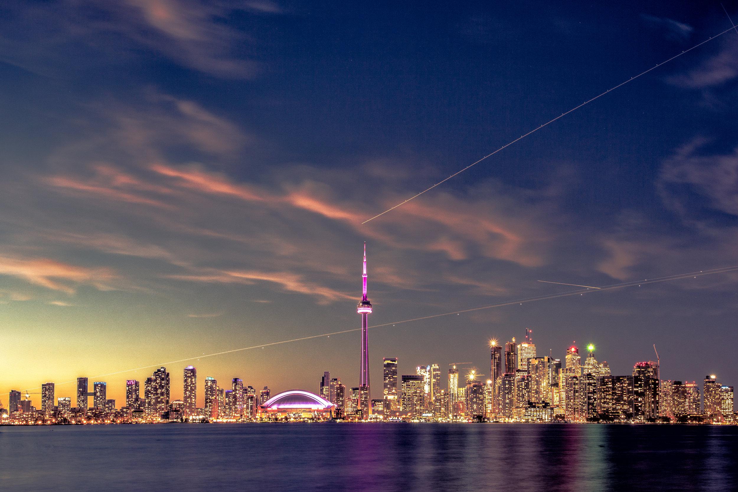 Toronto City Skyline CDS