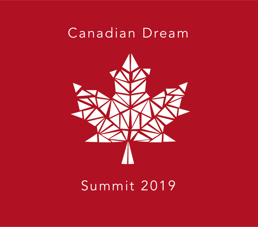 Canadian Dream Summit - Maple Leaf - White on Wine Red - with text.png
