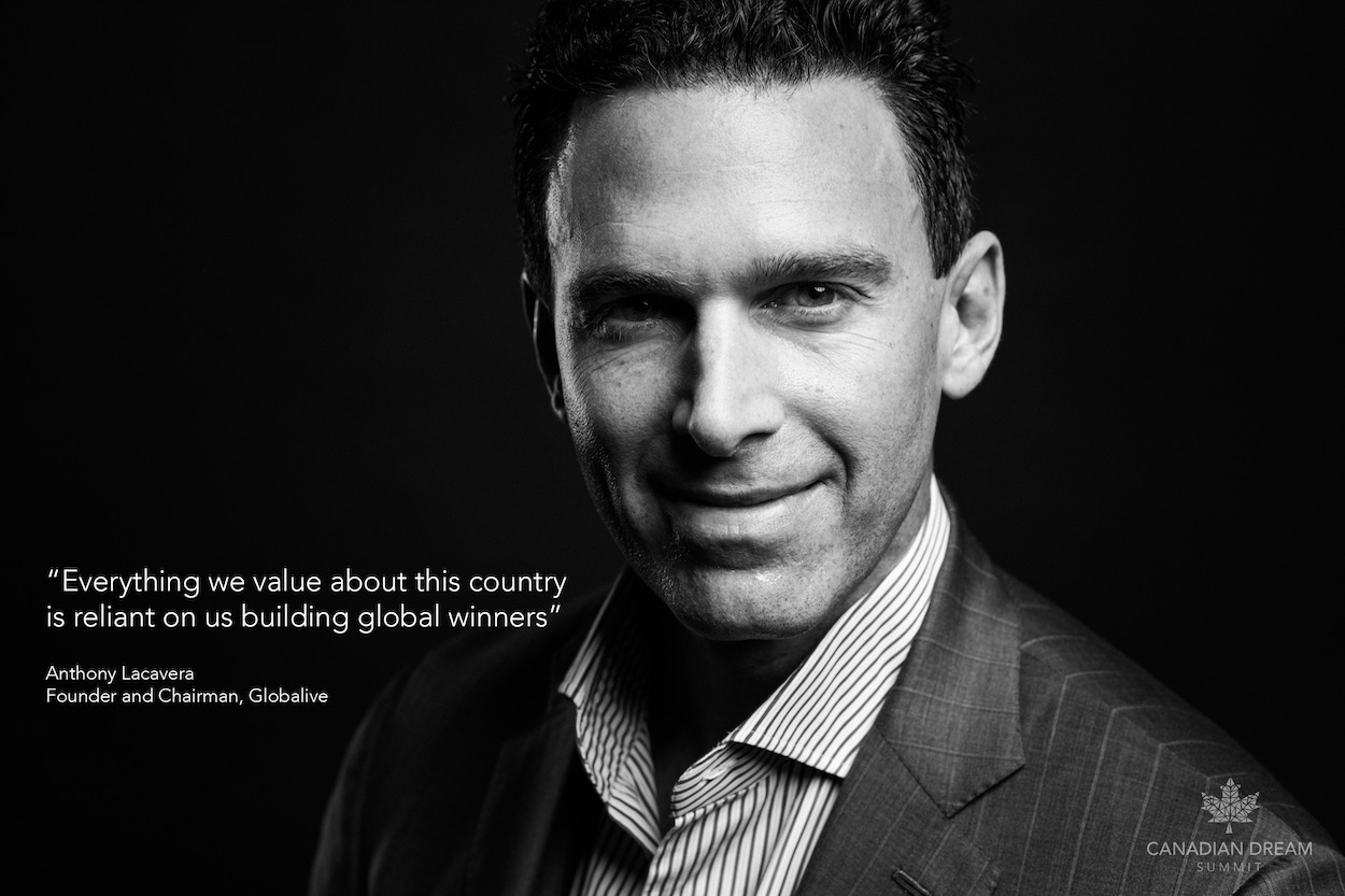 Anthony Lacavera, Chairman and Founder at Globalive