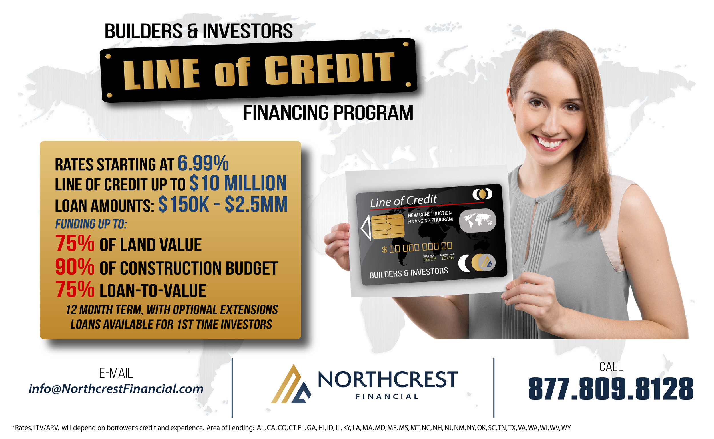 Line of Credit Financing for Real Estate Builders and Investors
