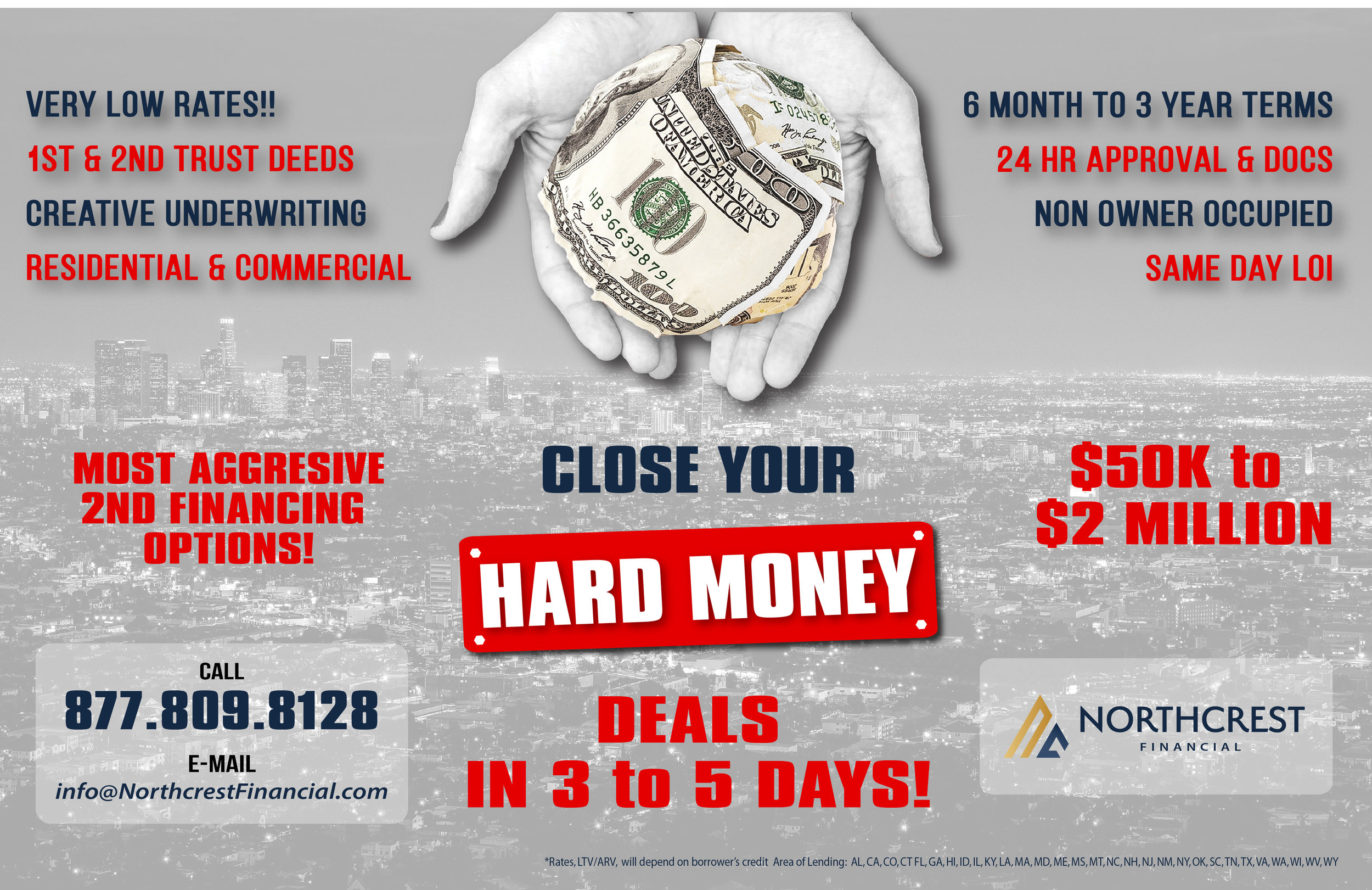 3 Year Loans >> California Private Hard Money Loans Real Estate Backed Lending