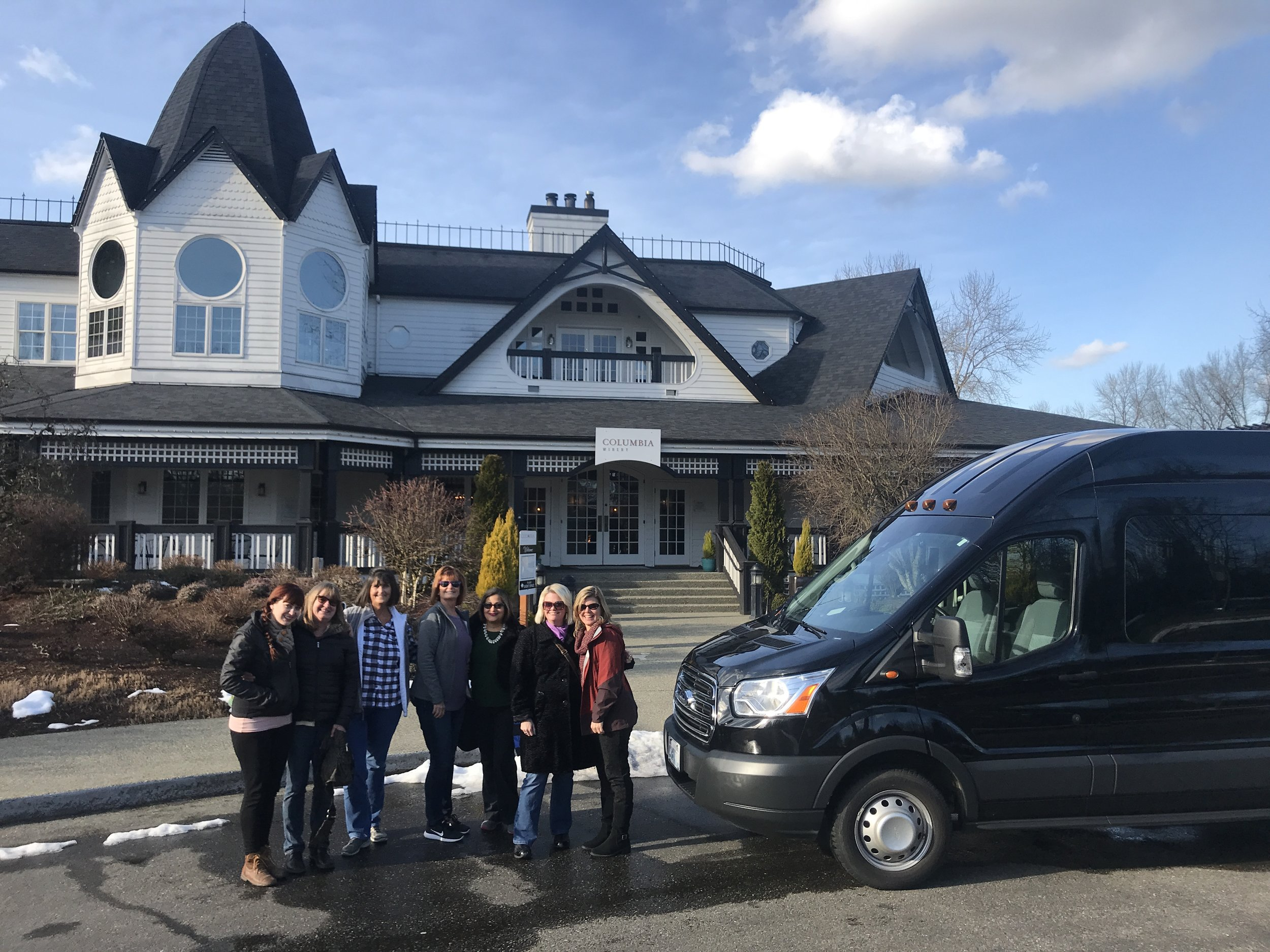 """""""Wonderful Excursion to Woodinville""""    """"Michael from Nature Nuts took great care of my small group! We had lunch, wine tasting and shopping in Woodinville, WA. He gave us great recommendations, offered assistance and was so flexible with our itinerary. Thank You!""""    -Allissa, Boise, ID"""
