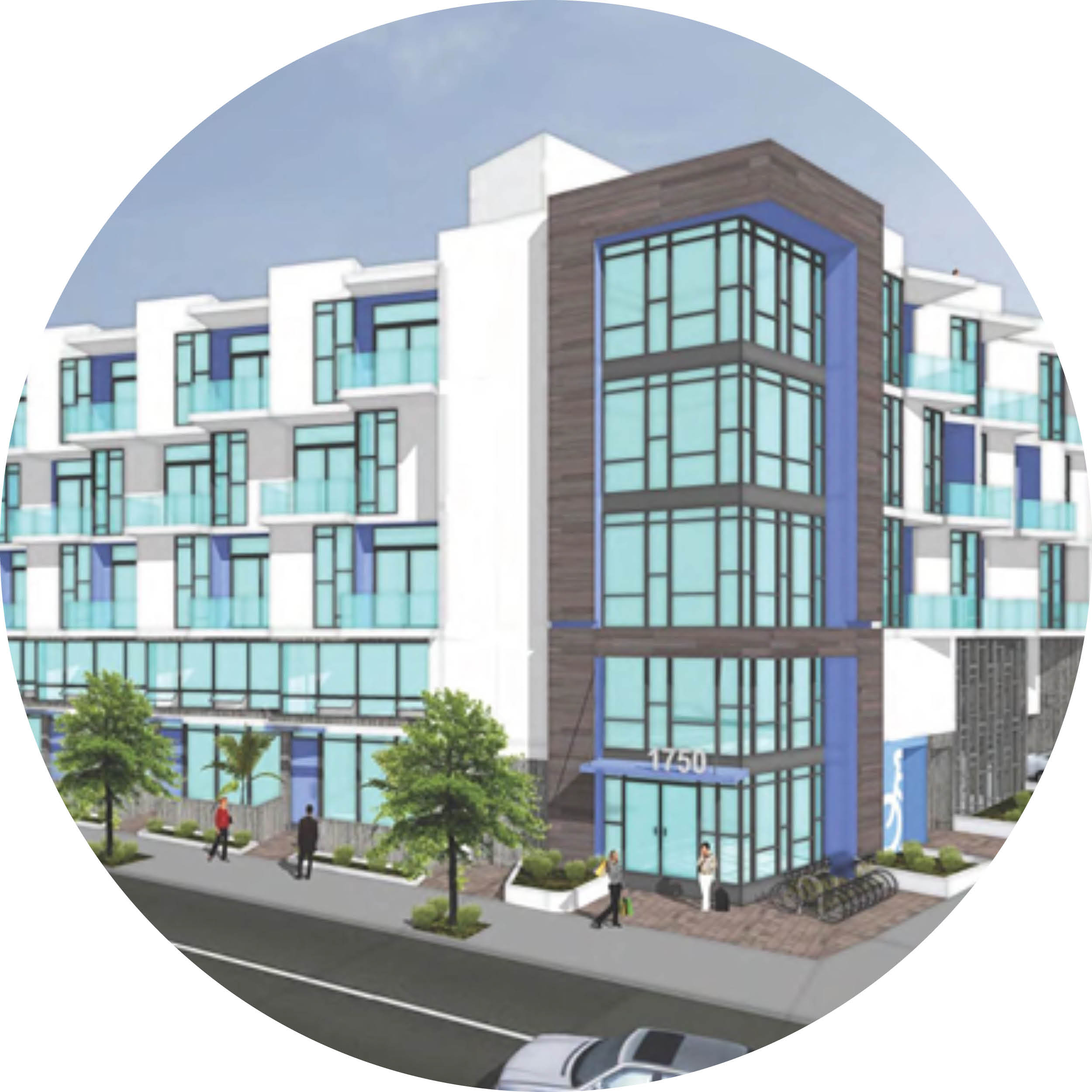 1750 glendale blvd - XX Traditional + Live-Work Units, Off-Menu Density Bonus in a Very High Fire Hazard Severity Zone, Outreach to Council District 13, the Silver Lake Neighborhood Council, and the Silver Lake BID