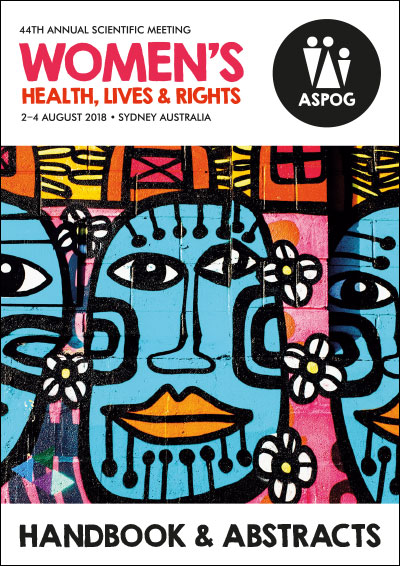 ASPOG 44th Annual Scientific Meeting 2018 - Women's Health, Lives & Rights