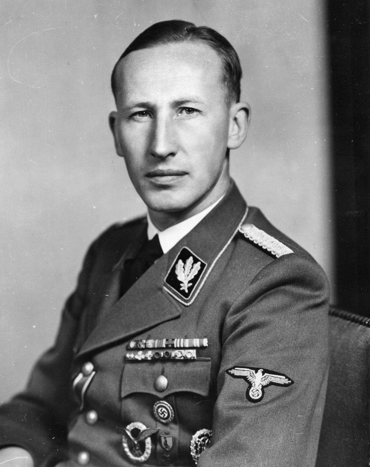 SS General Reinhard Heydrich (1904-42)