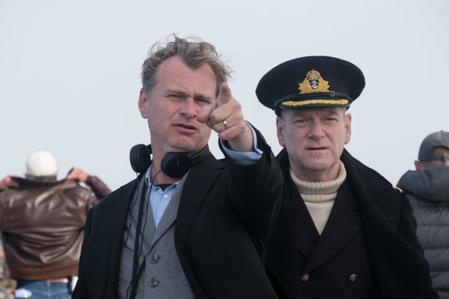 Christopher Nolan directs Kenneth Branagh