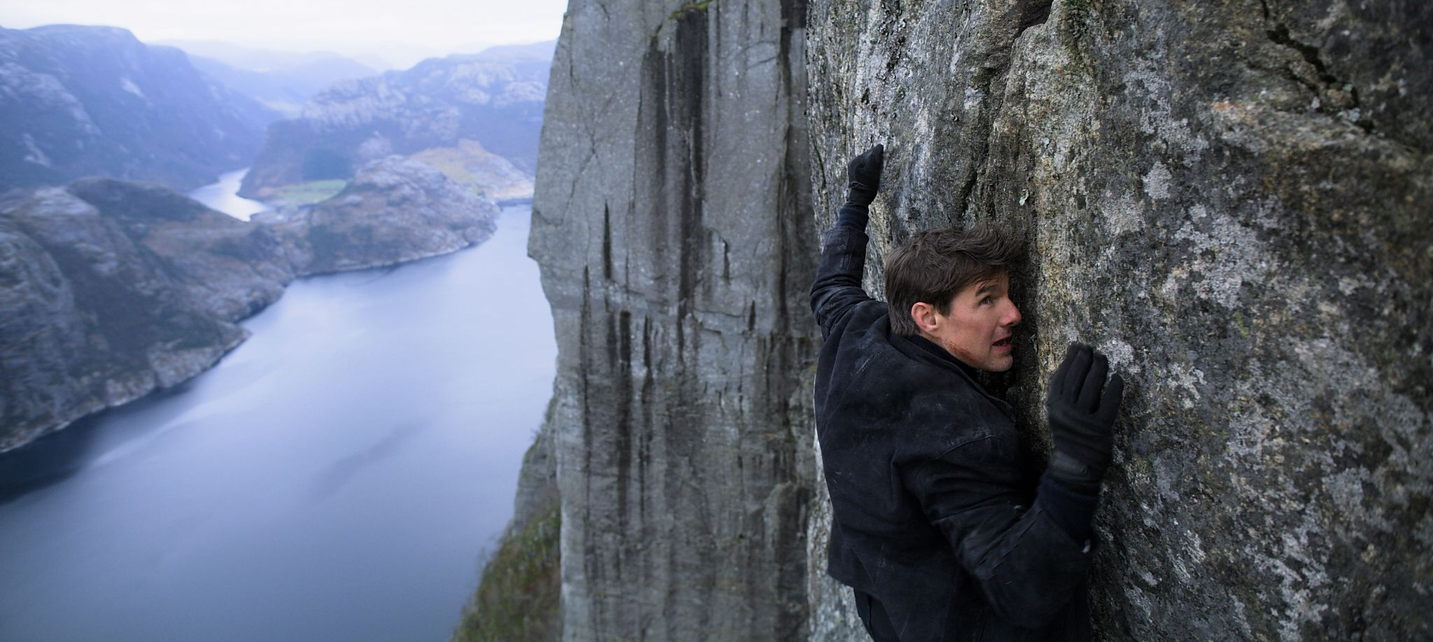 Tom Cruise as IMF agent Ethan Hunt in  Mission: Impossible—Fallout