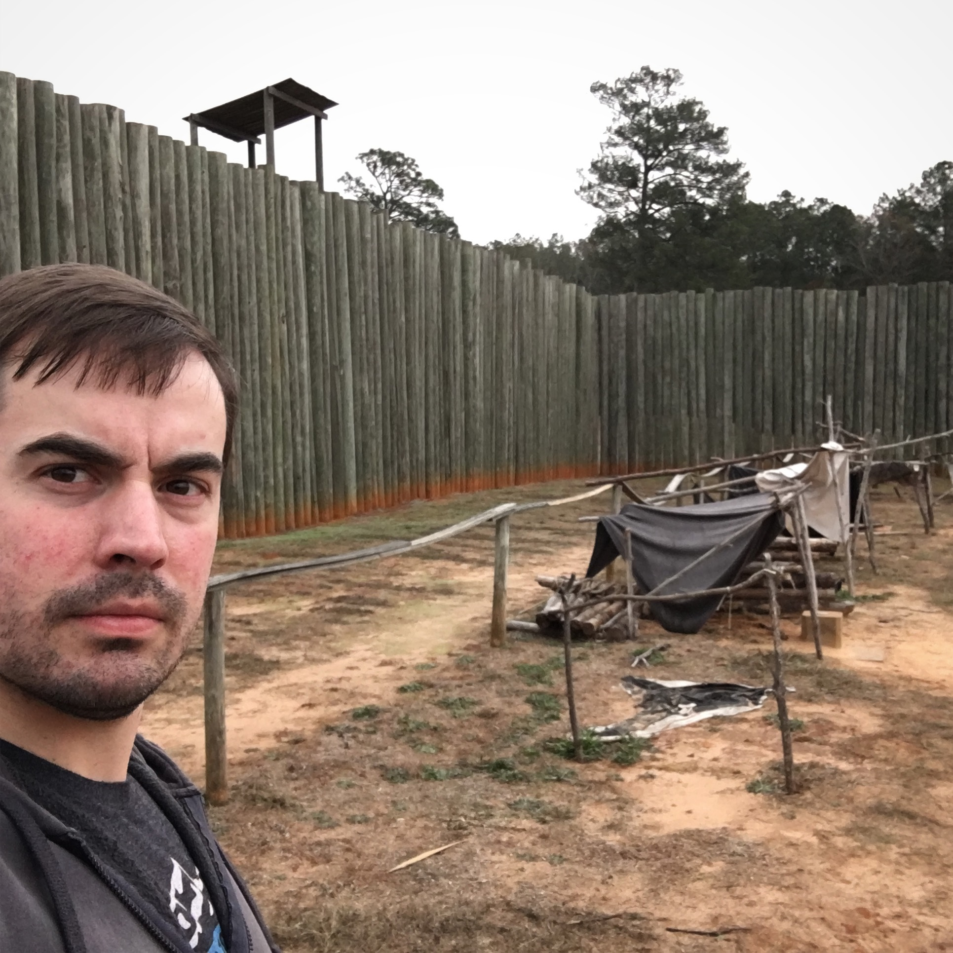 At Andersonville National Historic Site in December 2016