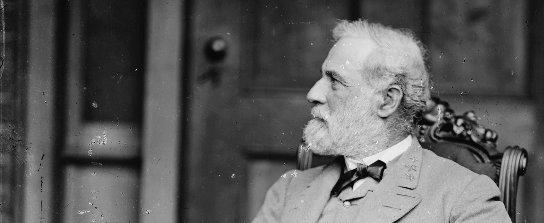 Robert E. Lee (1807-70) shortly after the end of the Civil War in 1865