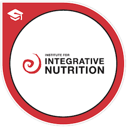 I am certified by the Institute for Integrative Nutrition. Click image to see my certificate. -