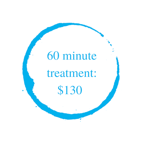 60 minute massage pricing