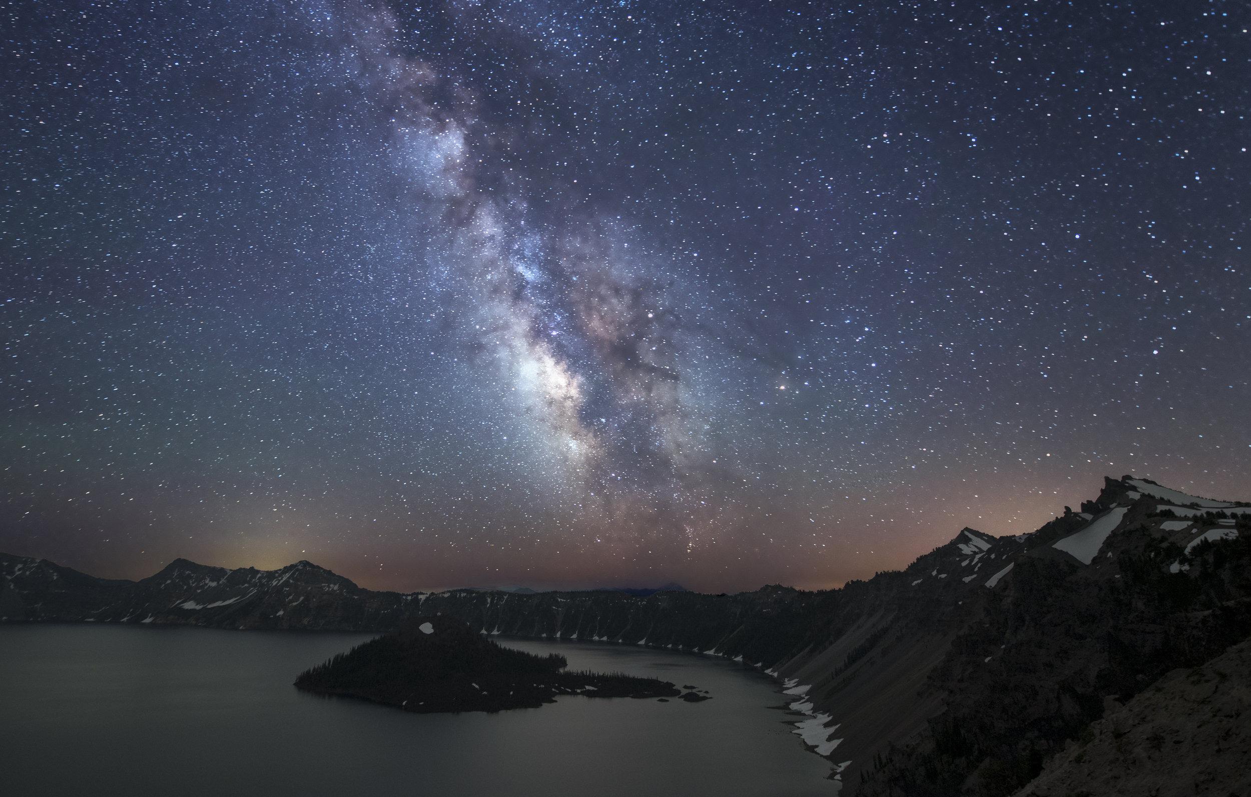 Crater Lake Galaxy II