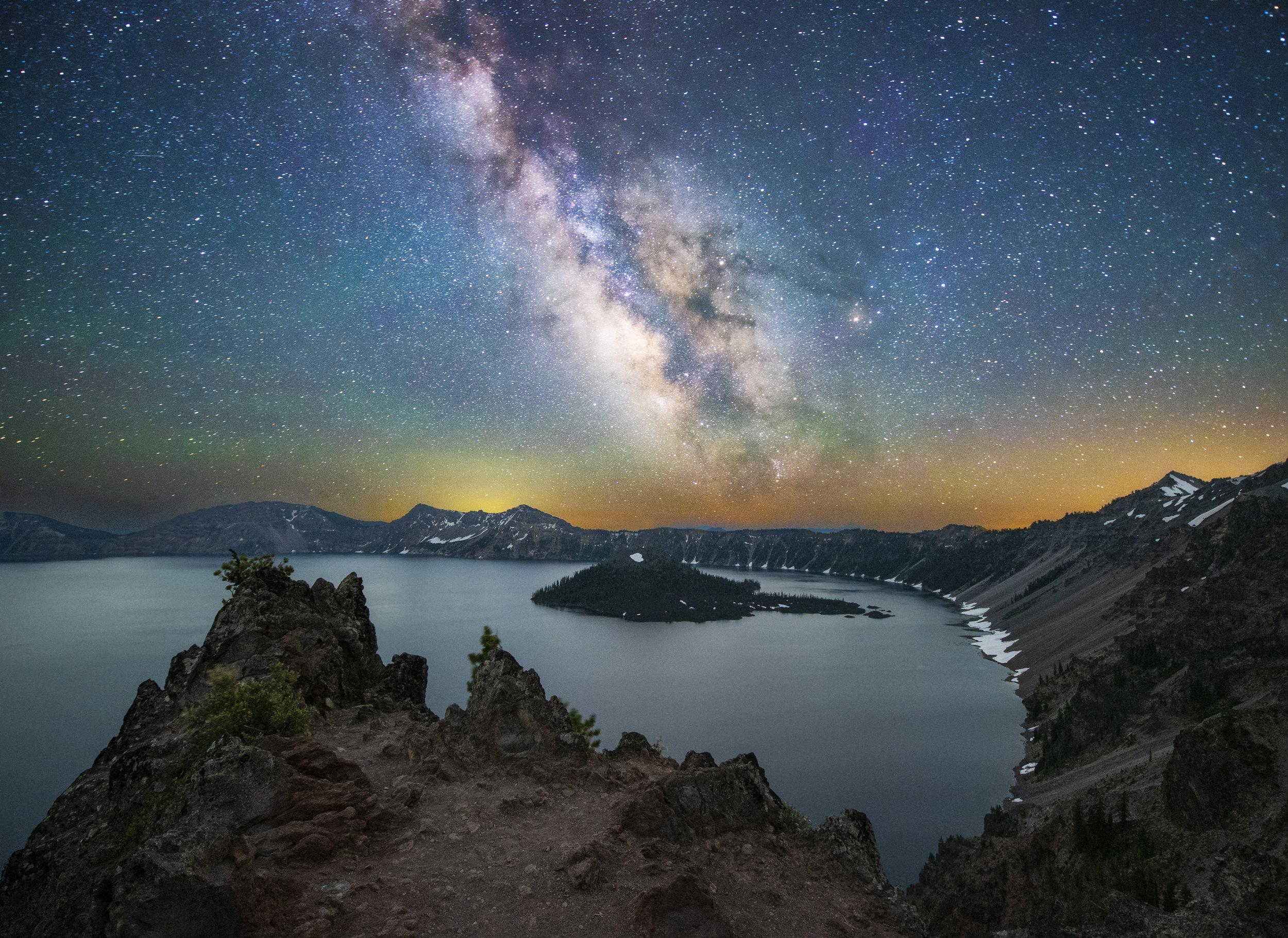 Crater Lake Galaxy V