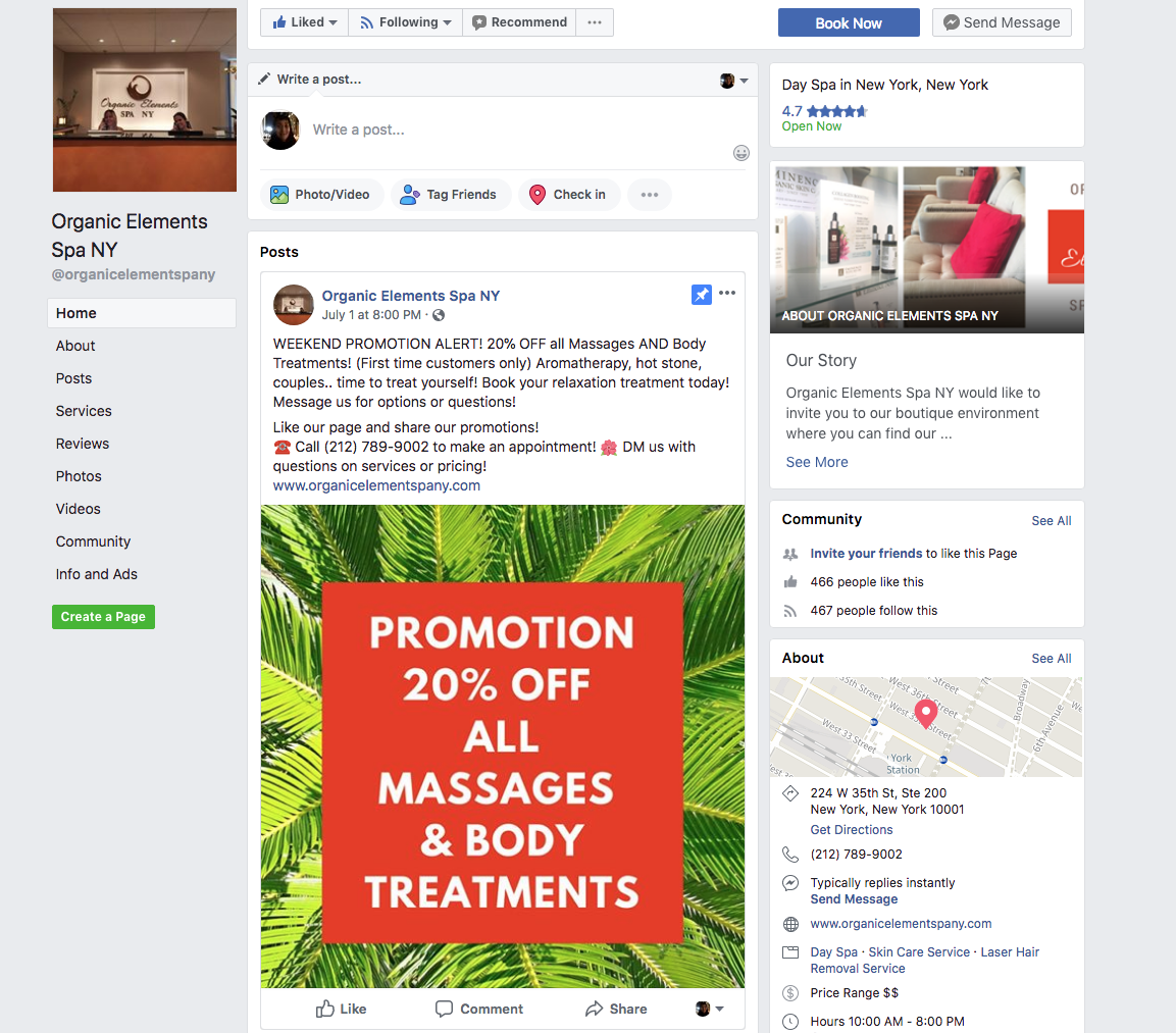 Spa Marketing Services