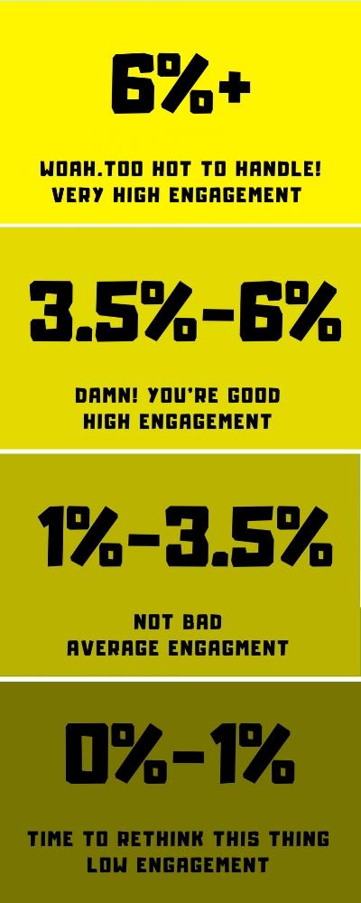 Engagement Rate Calculator Data Source -  Scrunch