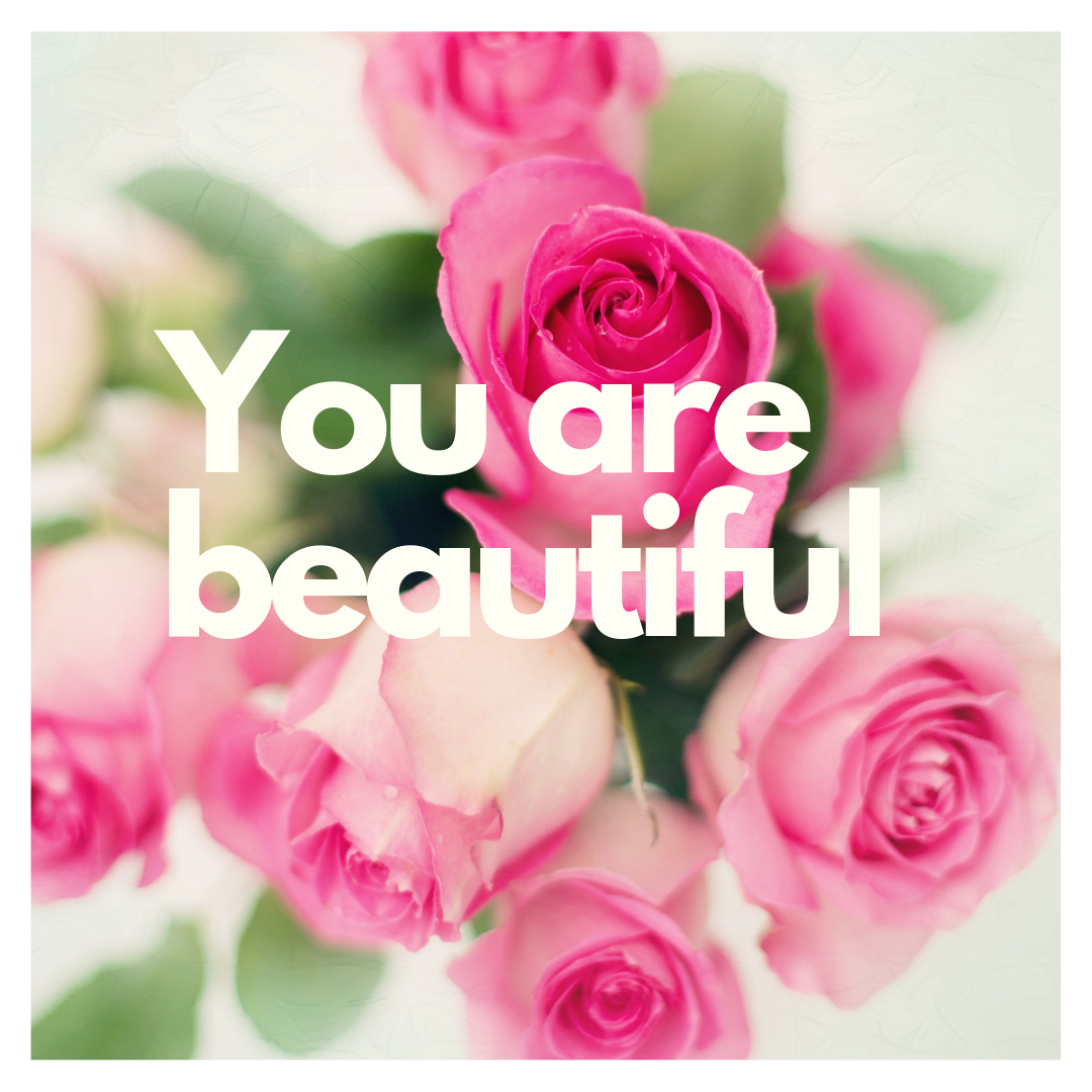 You are beautiful instant download