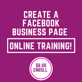 Create a Facebook Business Page - Enroll Now