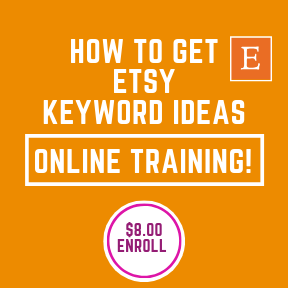 How to get Etsy Keyword Help