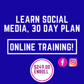 Learn Social Media, Online Training.