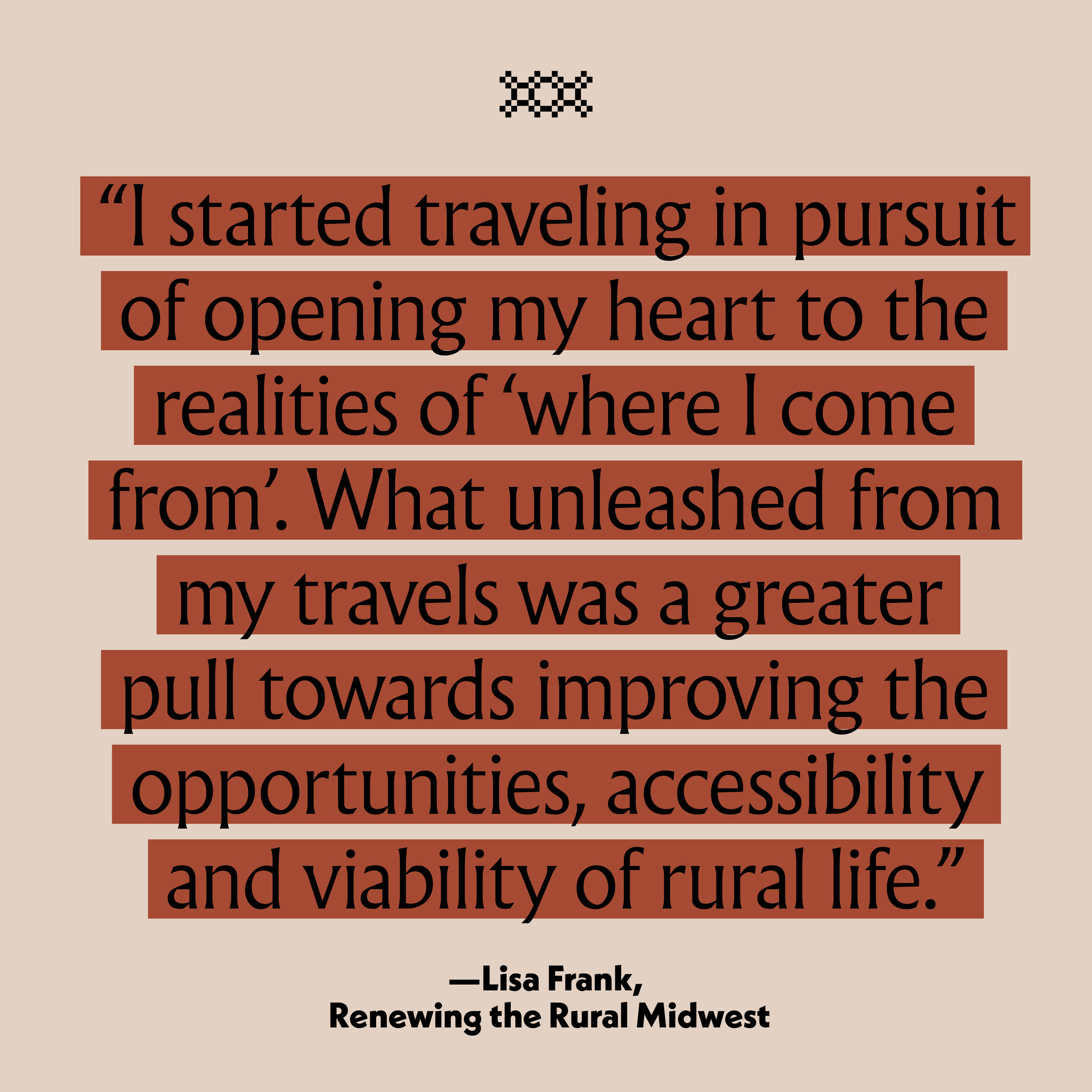Renewing Rural in the Vision Issue