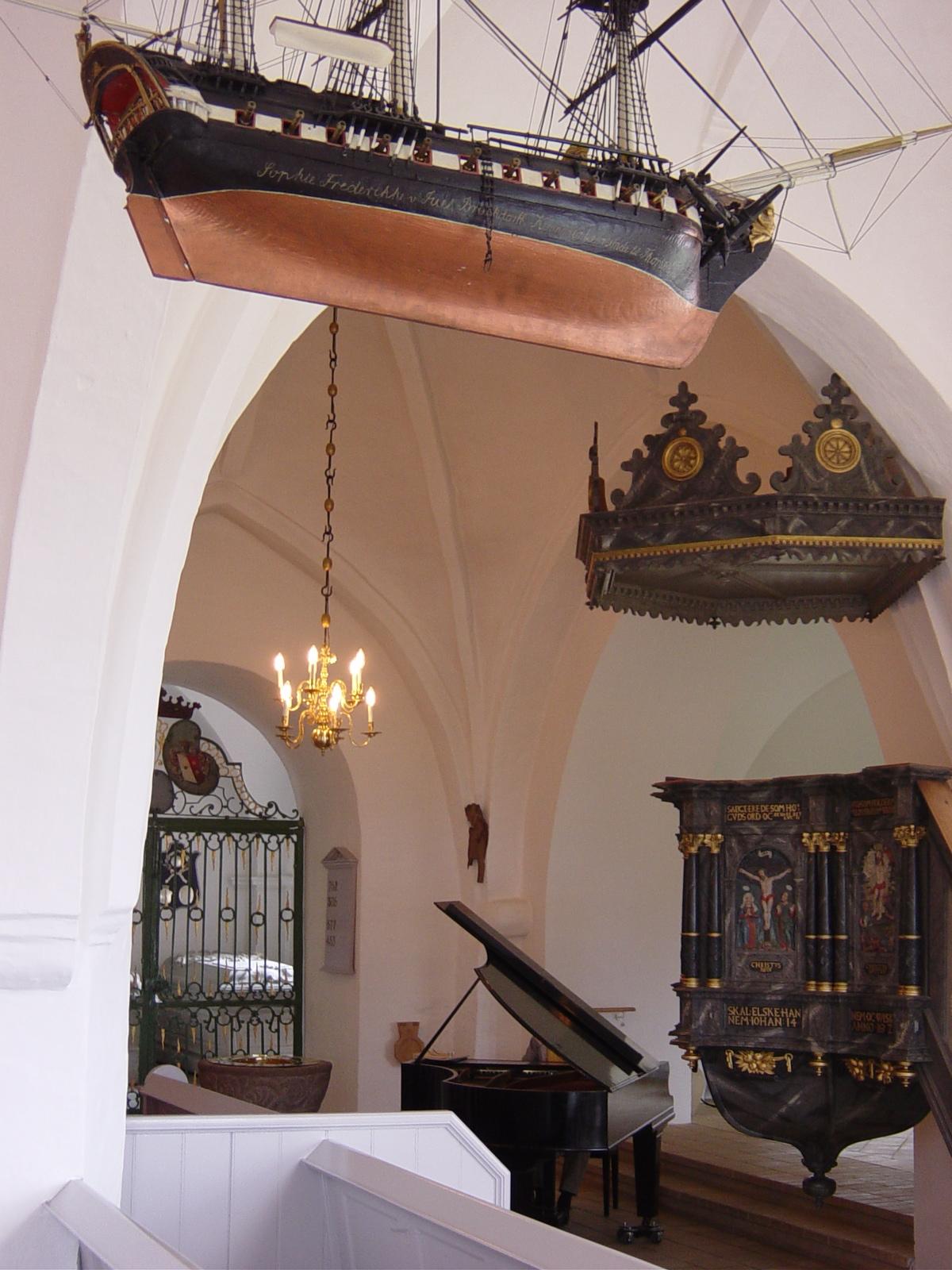 Bregninge Church, Denmark