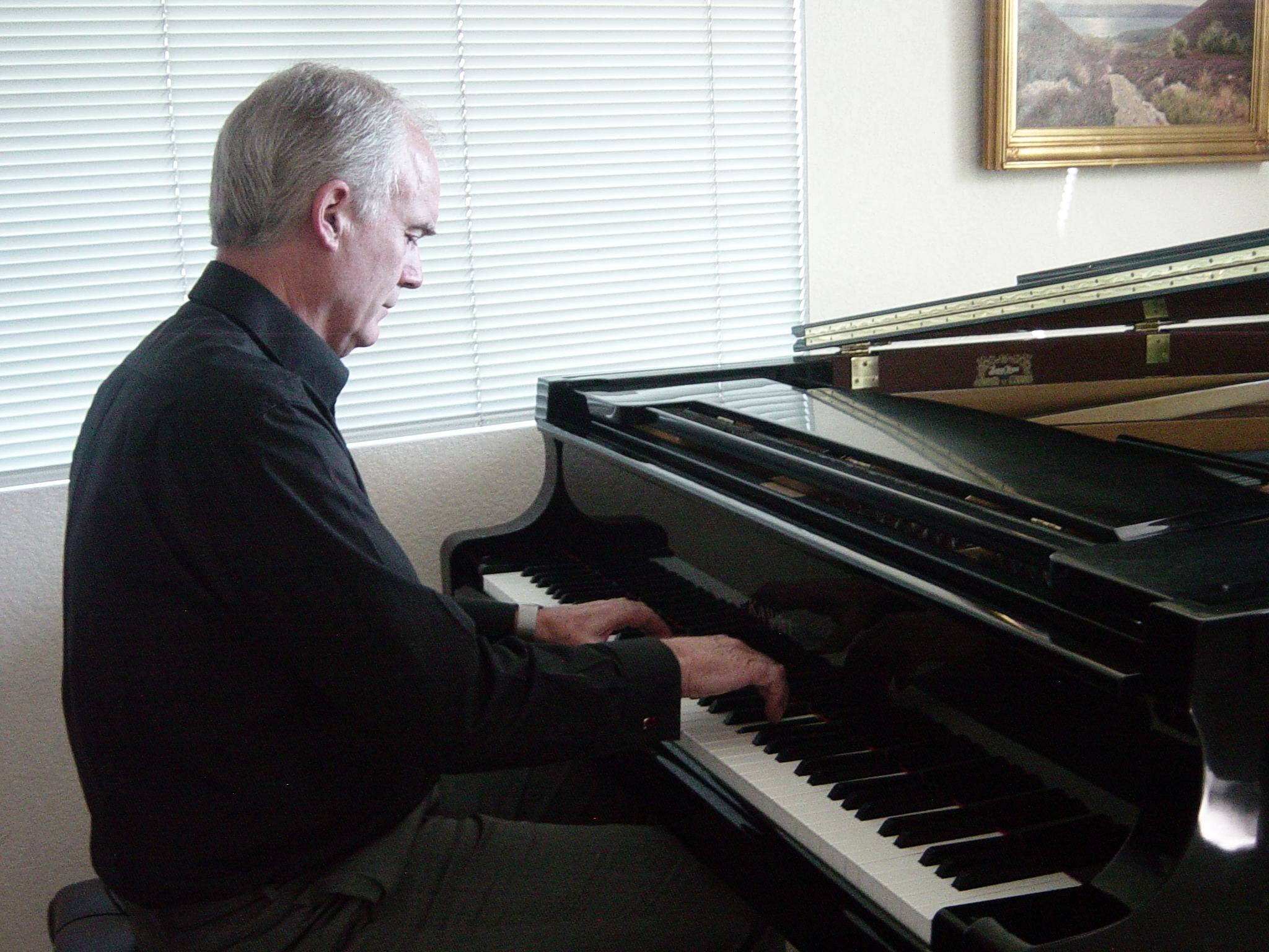 Torsten in his studio