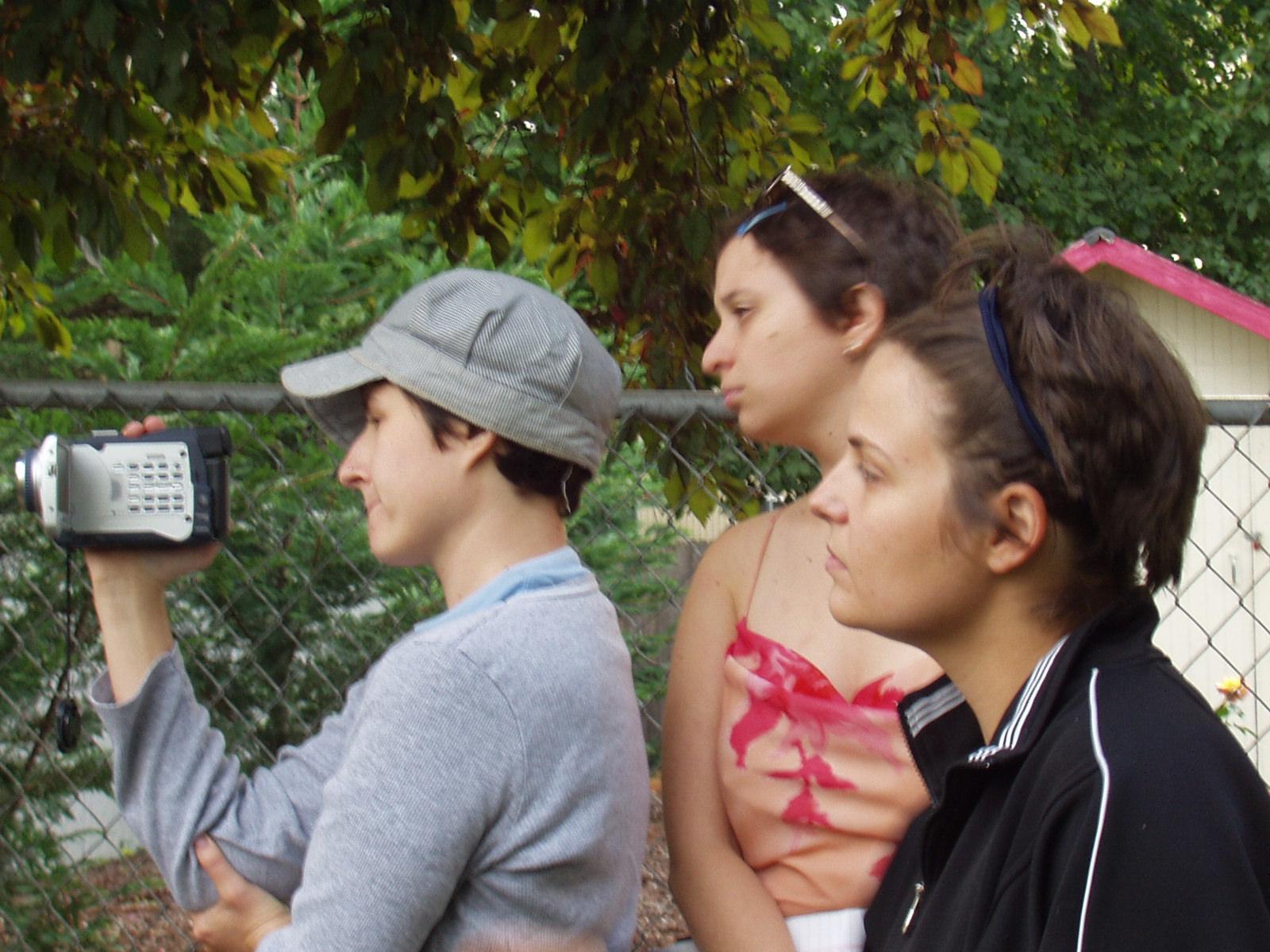 Filmmakers - Sel Staley,Mara Green and Eliza Greenwood