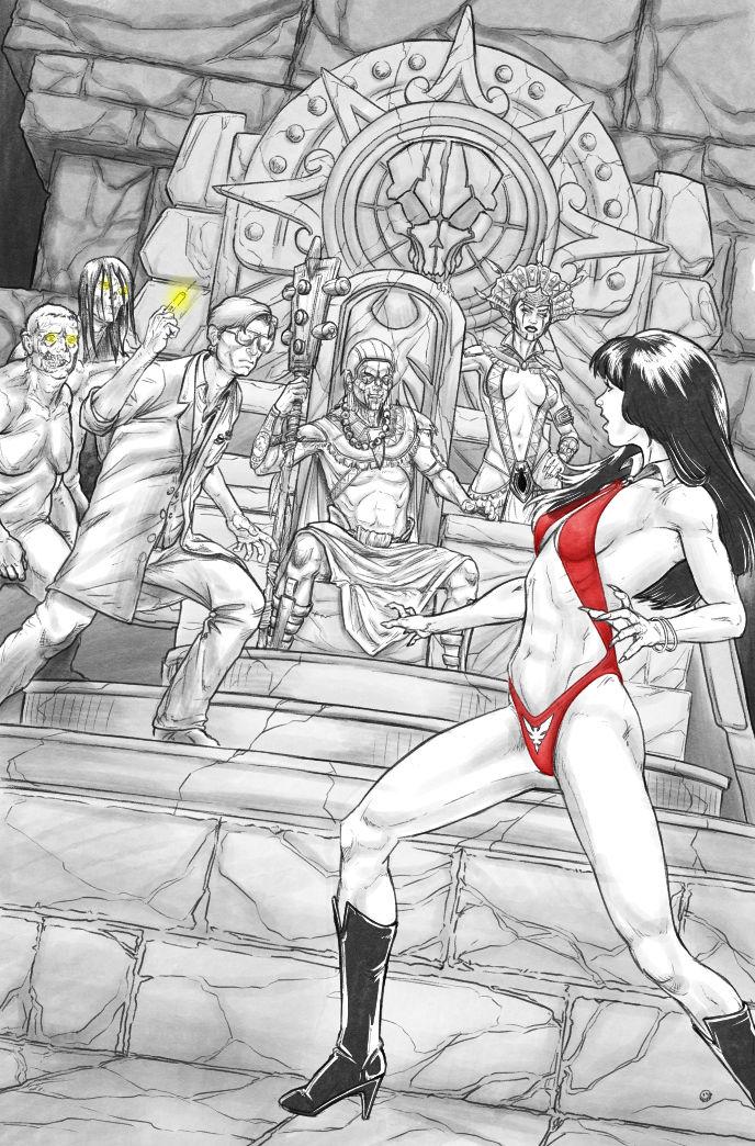 Vampirella Vs ReAnimator 3-4