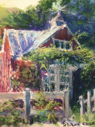 Ellicott City Shed  9x12  Pastel