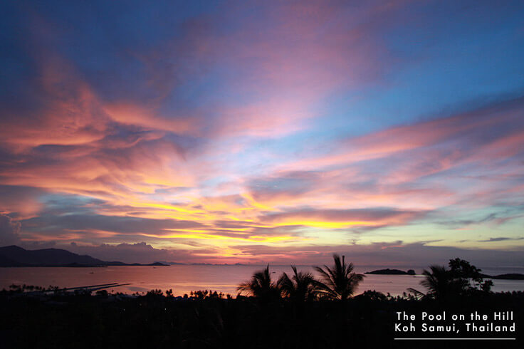 Oceanview Villa in Koh Samui: See The Pool on the Hill's Best Sunset Ocean Views, including Plai Laem Beach and Koh Som