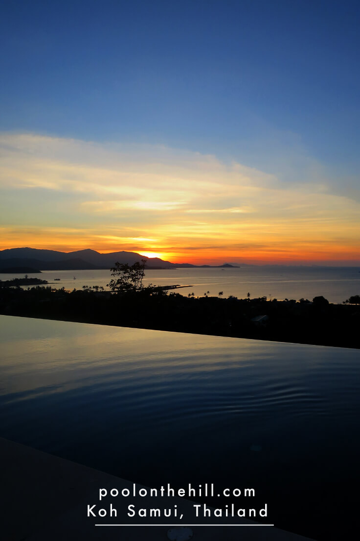 Koh Samui Ocean-View Villa at Sunset