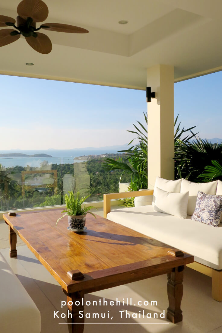 Koh Samui Vacation Rental with Sunset Ocean Views