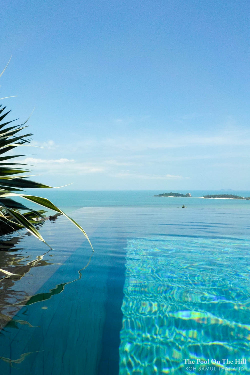 How to rent a villa in Thailand? Hidden Villa Perk: The infinity pool at The Pool on the Hill is freshwater – totally chlorine-free – and uses filtered rainwater. It feels like swimming in silk.
