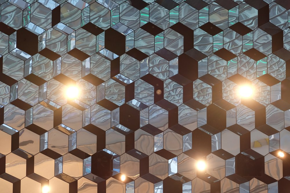 Harpa Concert Hall Ceiling