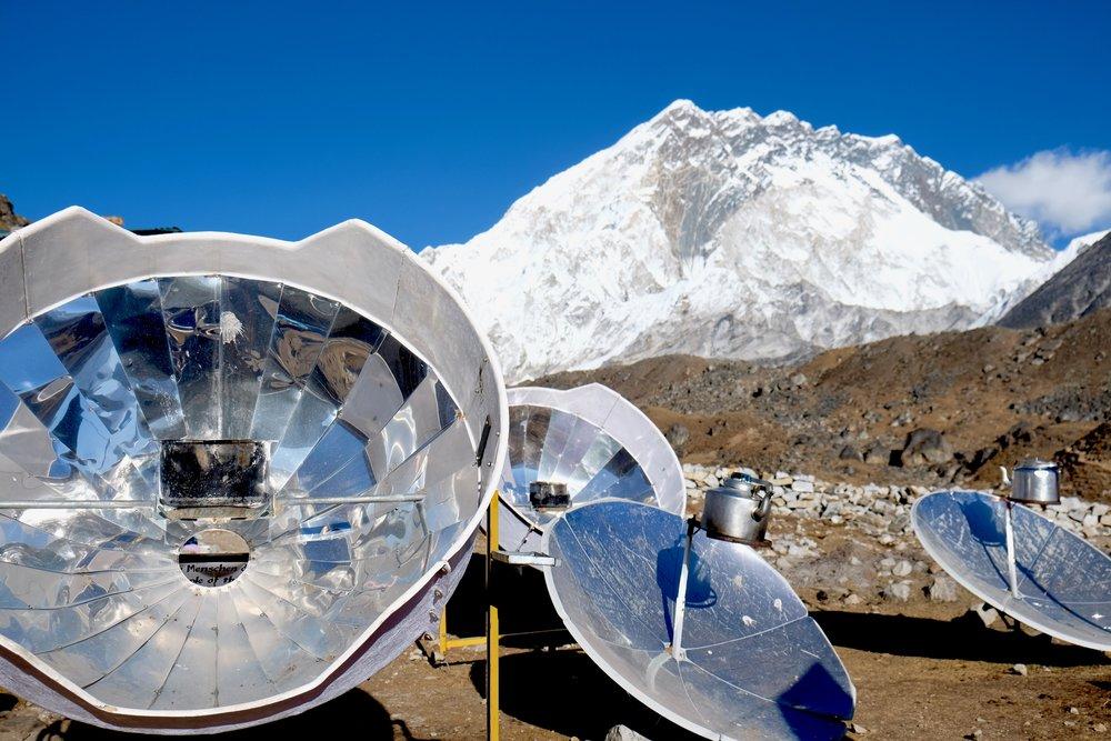 Solar heating collectors