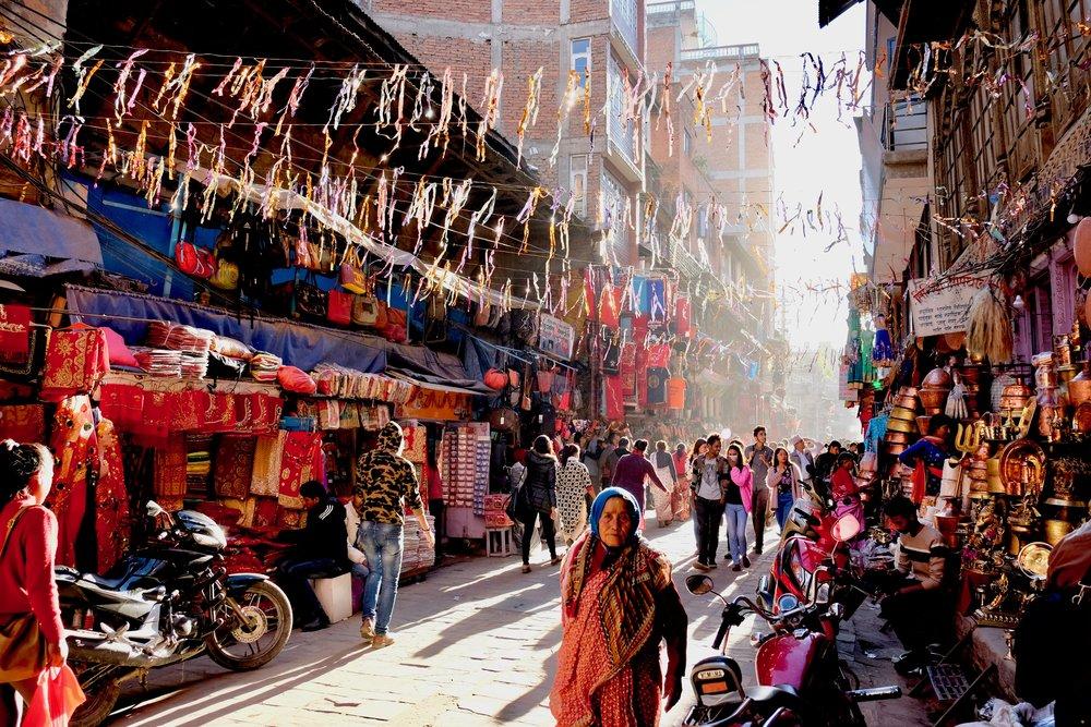 Old city, Kathmandu