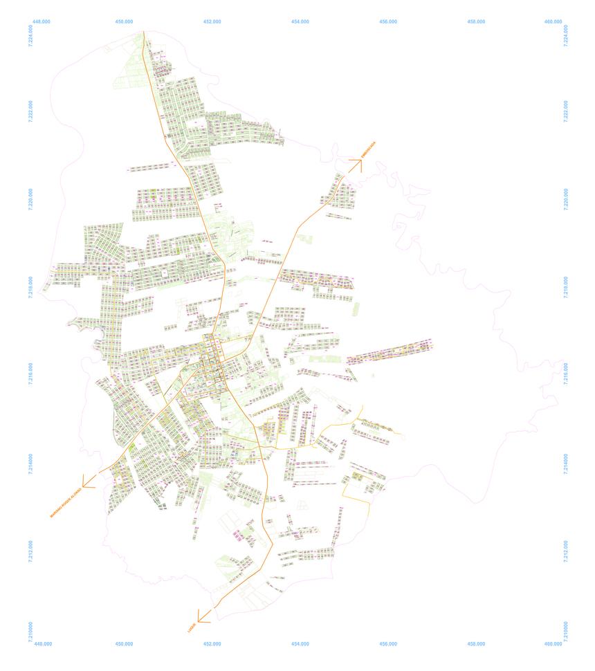 District Plan of Limpio