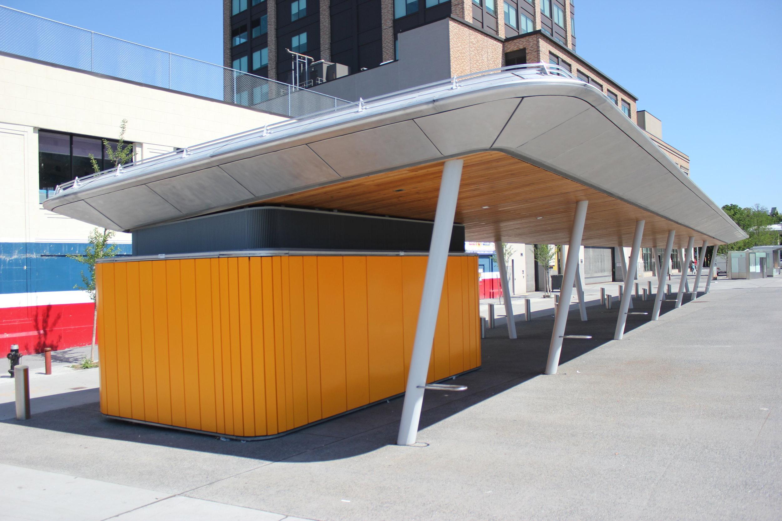 Farmer's Market Canopy and Storage